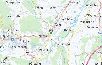 Stadtplan Attnang-Puchheim OT Steinhübl