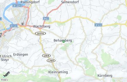 Stadtplan Behamberg