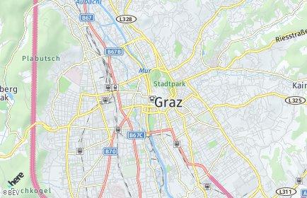 Stadtplan Graz OT Liebenau