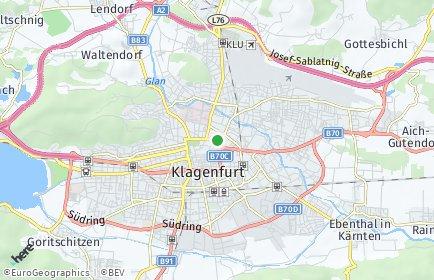 Stadtplan Klagenfurt am Wörthersee