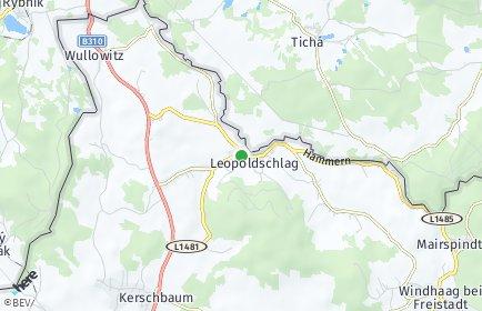 Stadtplan Leopoldschlag