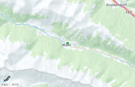 Stadtplan Muhr