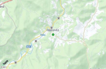 Stadtplan Opponitz