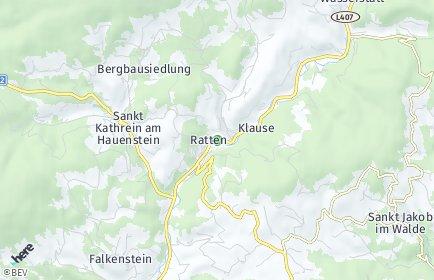 Stadtplan Ratten