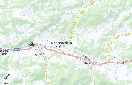 Stadtplan Rohrbach an der Gölsen