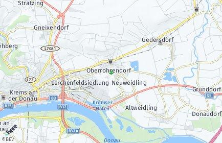 Stadtplan Rohrendorf bei Krems