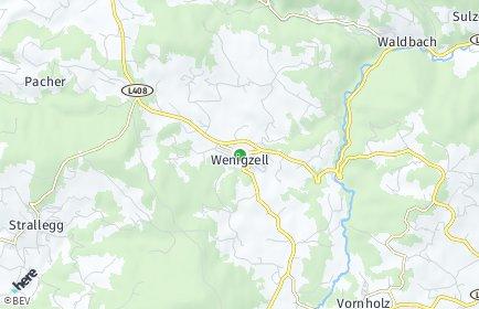 Stadtplan Wenigzell