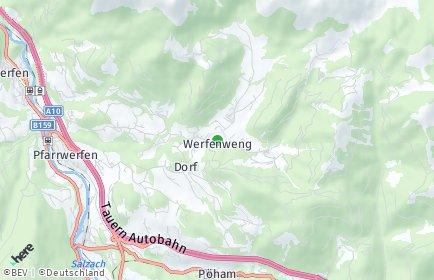 Stadtplan Werfenweng