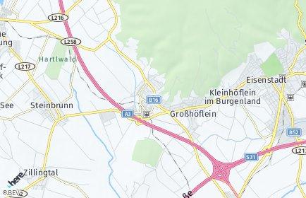 Stadtplan Müllendorf