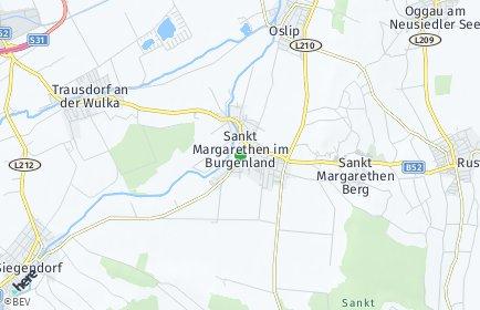 Stadtplan Sankt Margarethen im Burgenland