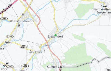 Stadtplan Siegendorf