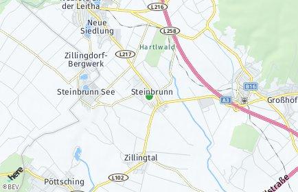Stadtplan Steinbrunn