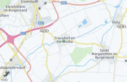 Stadtplan Trausdorf an der Wulka