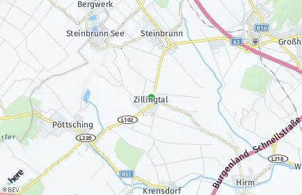 Stadtplan Zillingtal