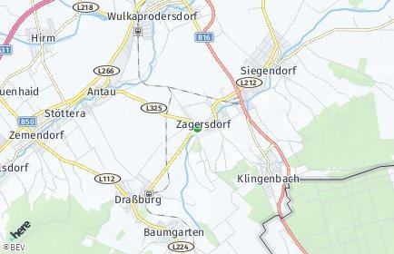 Stadtplan Zagersdorf