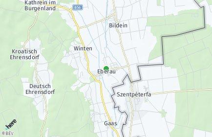 Stadtplan Eberau