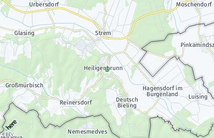 Stadtplan Heiligenbrunn