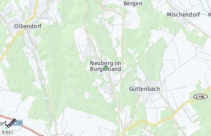 Stadtplan Neuberg im Burgenland