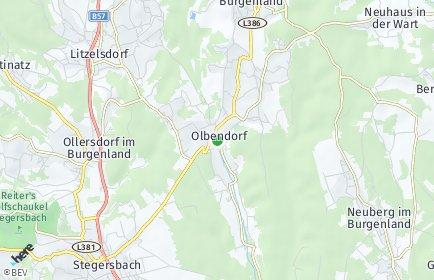 Stadtplan Olbendorf