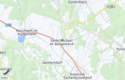 Stadtplan Sankt Michael im Burgenland