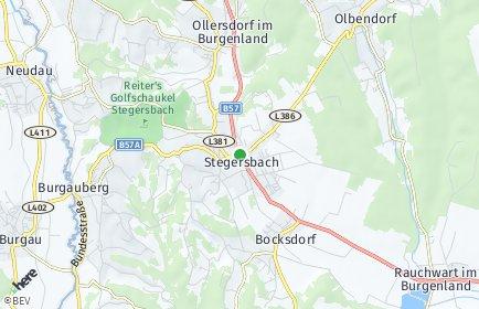 Stadtplan Stegersbach