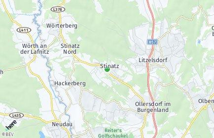 Stadtplan Stinatz