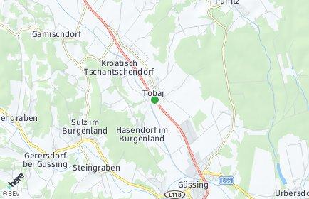 Stadtplan Tobaj