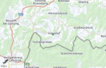 Stadtplan Inzenhof