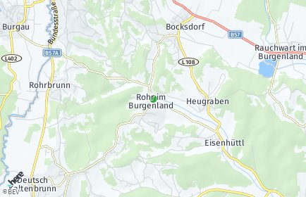 Stadtplan Rohr im Burgenland