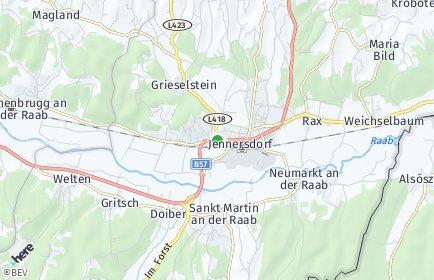 Stadtplan Jennersdorf