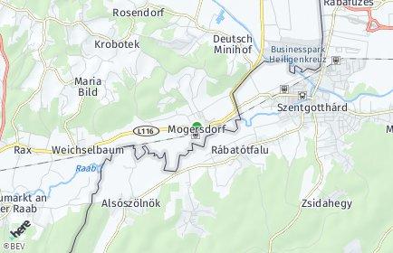 Stadtplan Mogersdorf