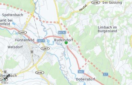 Stadtplan Rudersdorf