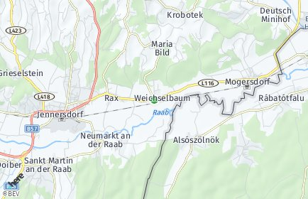 Stadtplan Weichselbaum
