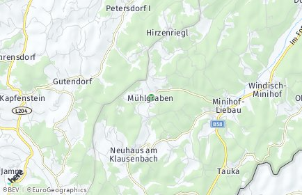 Stadtplan Mühlgraben