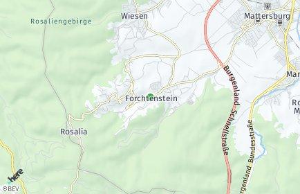 Stadtplan Forchtenstein