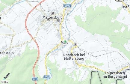 Stadtplan Marz