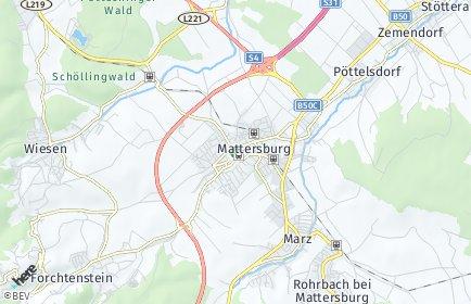 Stadtplan Mattersburg