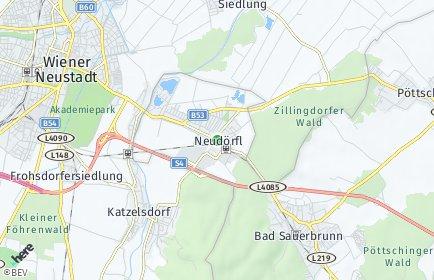 Stadtplan Neudörfl