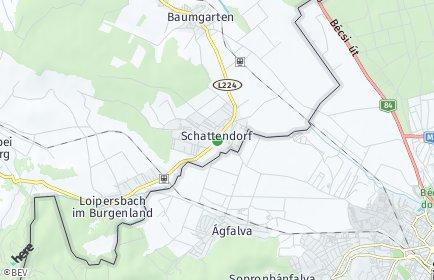 Stadtplan Schattendorf