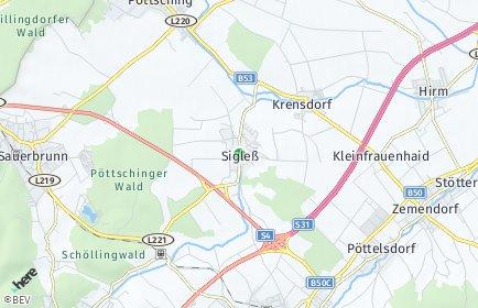 Stadtplan Sigleß