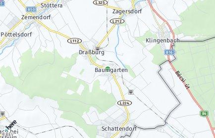 Stadtplan Baumgarten