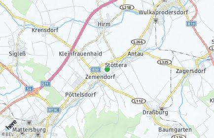 Stadtplan Zemendorf-Stöttera