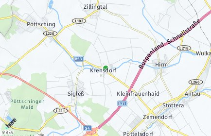 Stadtplan Krensdorf