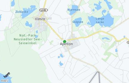 Stadtplan Apetlon
