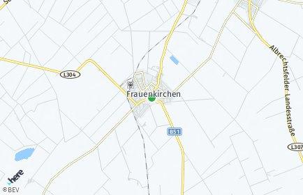 Stadtplan Frauenkirchen