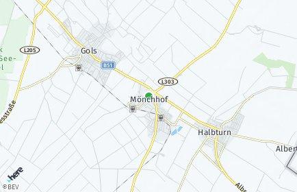 Stadtplan Mönchhof