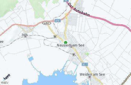 Stadtplan Neusiedl am See