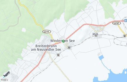 Stadtplan Winden am See