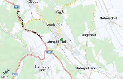 Stadtplan Oberpullendorf