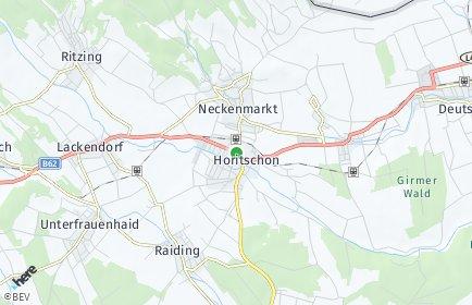 Stadtplan Horitschon